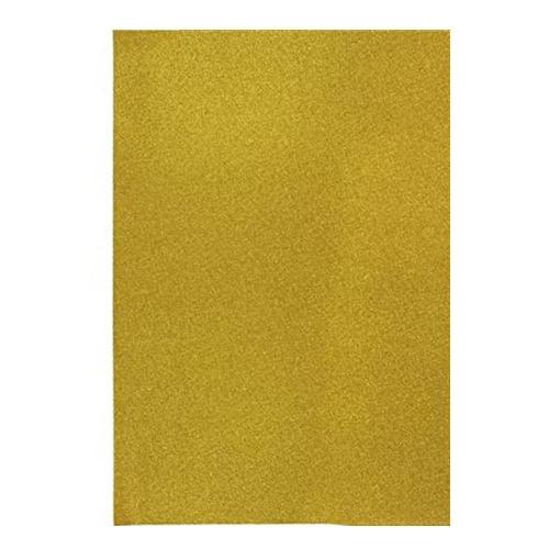 Χαρτί αφρώδες μεταλλιζέ Α4 χρυσό