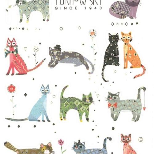 Αυτοκόλλητα bsb deco 11-551 cats