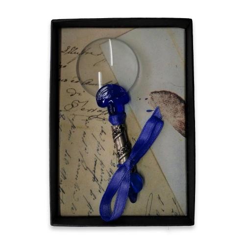 Μεγεθυντικός φακός γυάλινος Νο3 Rubinato μπλε