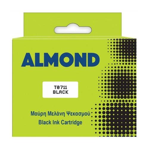 Μελάνι Almond συμβατό Epson T0711  black 12 ml