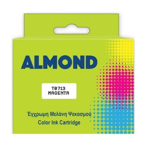 Μελάνι Almond συμβατό Epson T0713 Magenta 12 ml