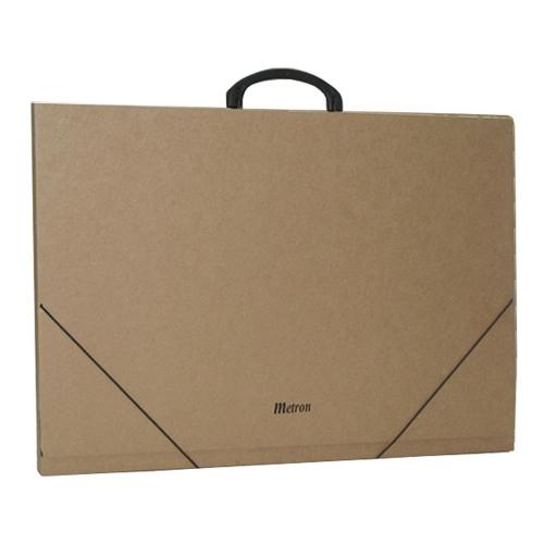 Τσάντα σχεδίου χάρτινη Metron 52x72x2 cm