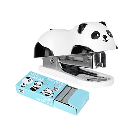 Συρραπτικό Deli panda Νο10 με 1000 σύρματα δώρο