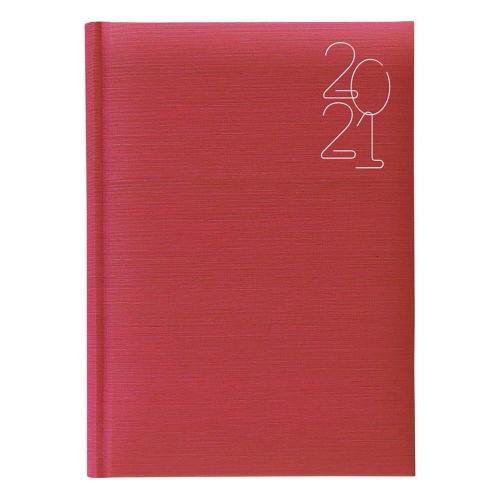 Ημερολόγιο 2021 17x24 ημερήσιο Indiana κόκκινο