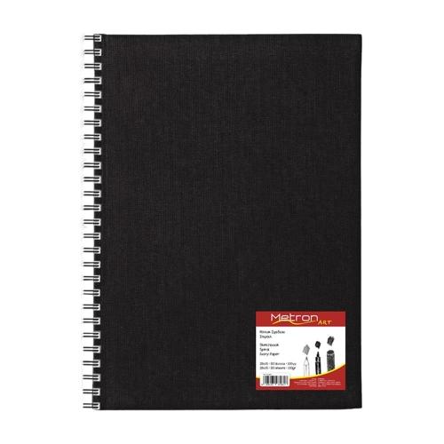 Σημειωματάριο Α4 Metron 80φ σπιράλ sketchbook