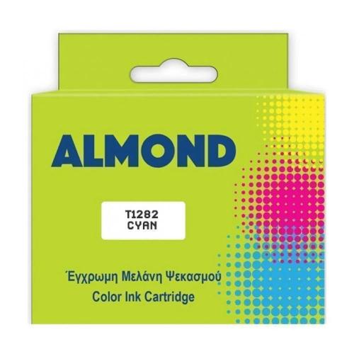 Μελάνι Almond συμβατό Epson T1282 cyan 6 ml