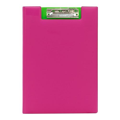Ντοσιέ πιάστρα Α4 δίφυλλο ροζ