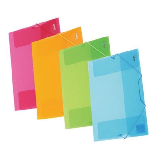 Ντοσιέ λάστιχο πλαστικό Α4 Deli