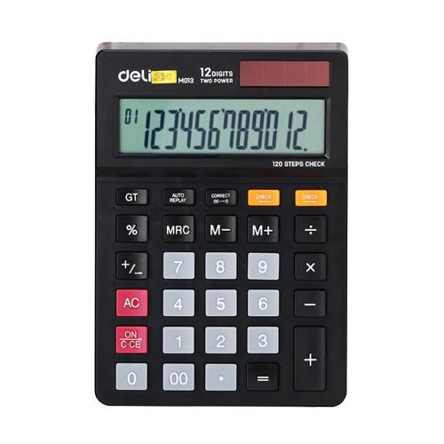 Αριθμομηχανή Deli 01320 12 ψηφίων 120 βημάτων
