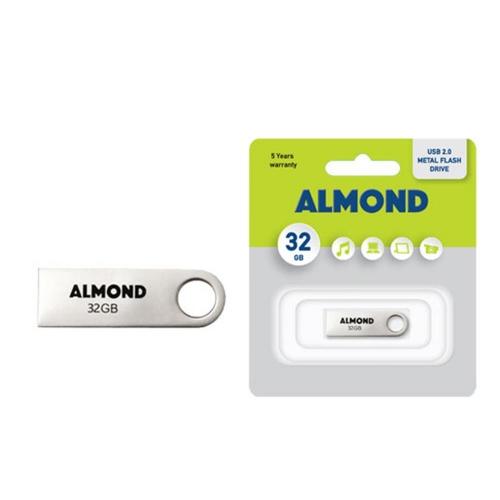 Usb Almond 32GB μεταλλικό mini