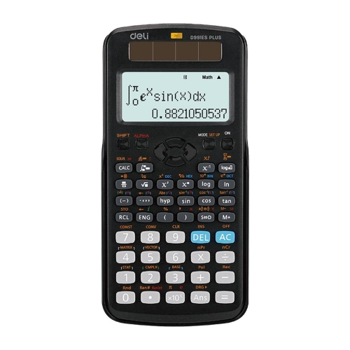 Αριθμομηχανή Deli ED991ES με 417 πράξεις επιστημονική