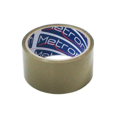 Ταινία δεμ. Metron PP 48mmx50m καφέ