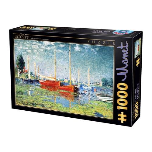 Παζλ D-Toys Monet Argenteuil 68x47cm 1000 κομ.