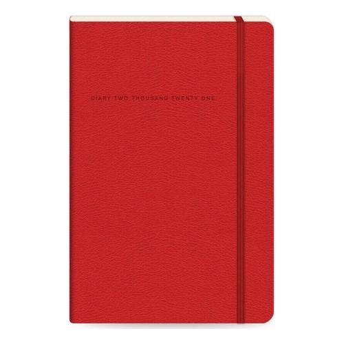 Ημερολόγιο 2021 Flexbook 17x24 softline κόκκινο