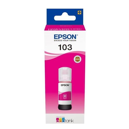 Μελάνι Epson 103 Bottle T00S34A magenta