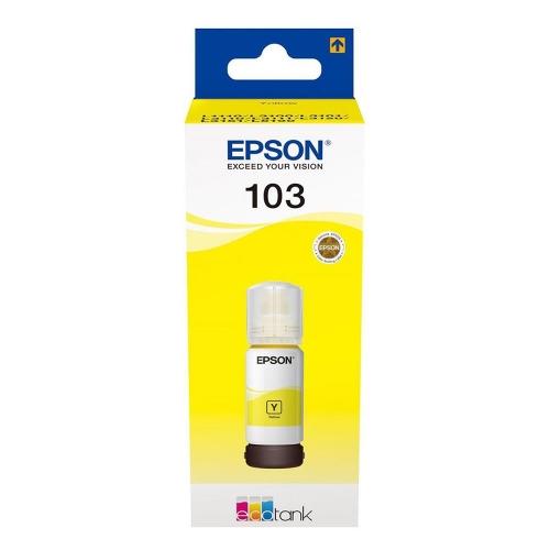 Μελάνι Epson 103 Bottle T00S44A yellow