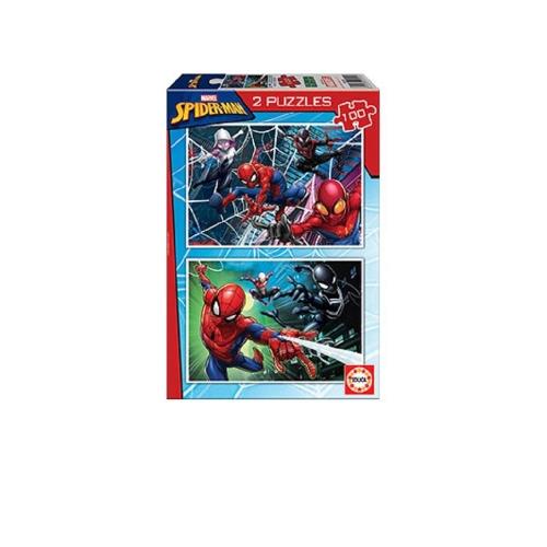 Παζλ Educa Spider Man 2x100 κομ.