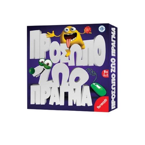 Επιτραπέζιο παιχνίδι Remoundo πρόσωπο ζώο πράγμα