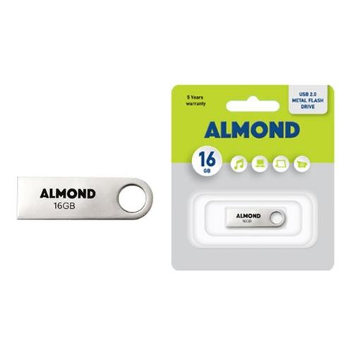 Usb Almond 16GB μεταλλικό mini