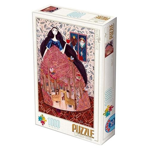 Παζλ D-Toys Kurti Andrea Snow White 68x47cm 1000 κομ.