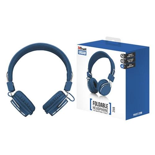 Ακουστικά ενσύρματα Trust Ziva μπλε