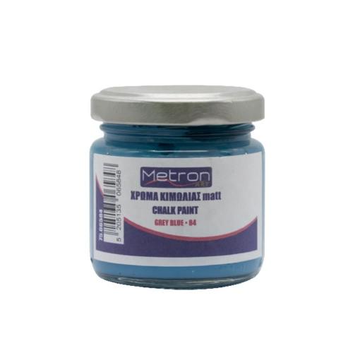 Χρώμα κιμωλίας Metron 110 ml grey blue