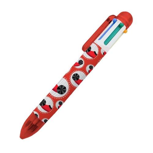 Στυλό Ελλάδα 2021 6 χρώματα κόκκινο