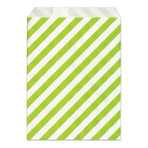 Σακουλάκι χάρτινο δώρου πράσινο ριγέ Meyco 34832