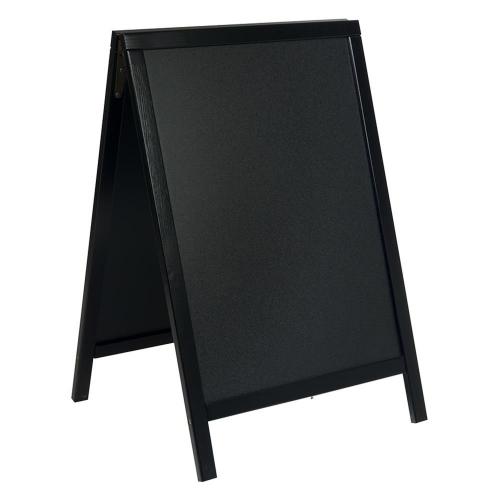 Πίνακας διπλής όψης υγρής κιμωλίας Securit 85x54 cm με βάση