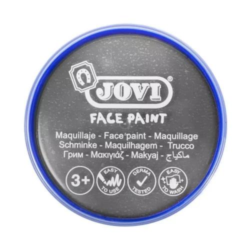Χρώμα Face Painting Jovi 20 ml ασημί