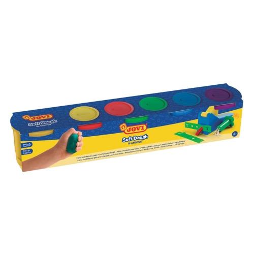 Πλαστοζυμαράκια Jovi Soft Dough σετ 5x110gr