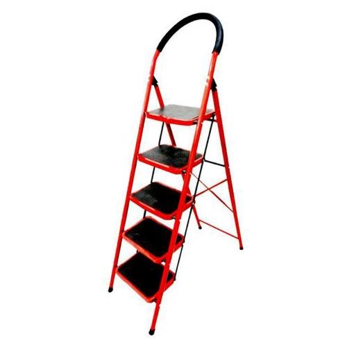 Σκάλα σιδερένια με 5 σκαλοπάτια 164 cm
