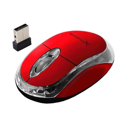 Ποντίκι ασύρματο Esperanza Extreme κόκκινο