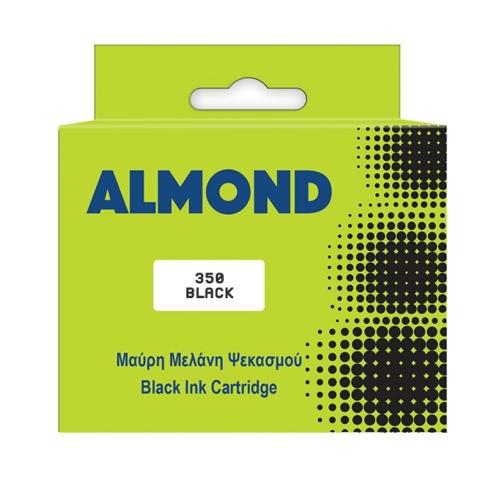 Μελάνι Almond συμβατό Hp 350 black 20 ml