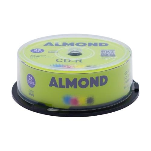 Cd-r Almond πομπίνα 25 τεμ.