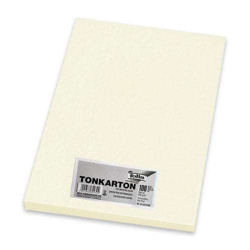 Χαρτονάκι Α4 Folia 220gr 100φ λευκό περλέ