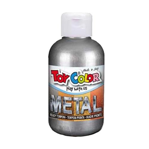 Τέμπερα Toy Color 250ml silver