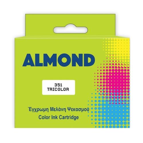 Μελάνι Almond συμβατό Hp 351 tricolor 12 ml