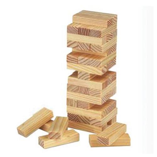 Επιτραπέζιο παιχνίδι Jenga ξύλινο 45 τεμ.