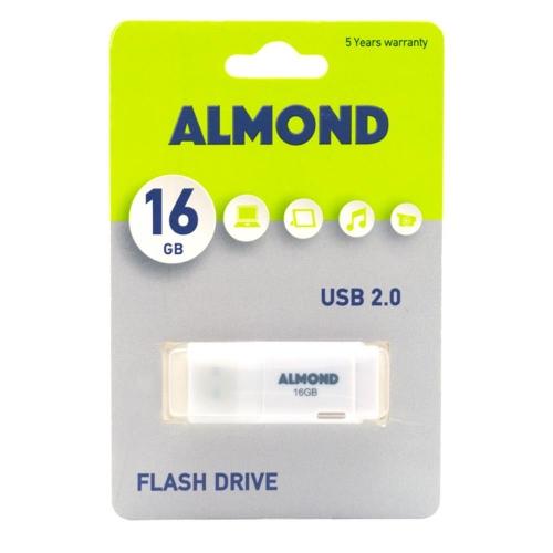 Usb Almond 16GB Prime λευκό