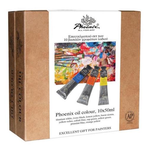 Σετ λάδια επαγγελματικά Phoenix 10x50 ml