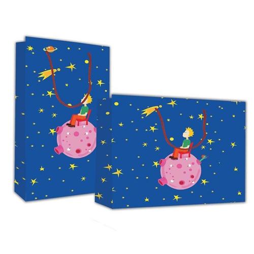 Τσάντα χάρτινη Next 40x46x14 cm παιδί στο διάστημα