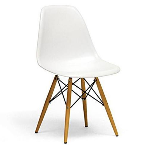 Καρέκλα πλαστική Oslo με 4 πόδια λευκή