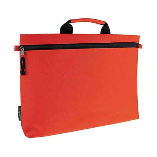 Τσάντα εγγράφων-σεμιναρίων κόκκινη 41x27εκ.