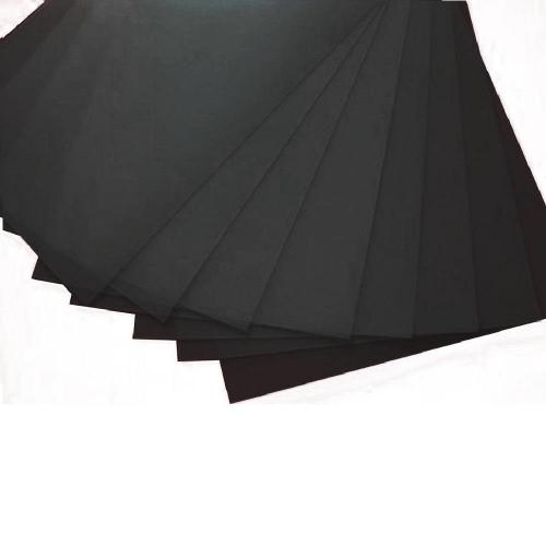 Φύλλο πολυπροπυλενίου 0,7 mm 50x70 cm μαύρο