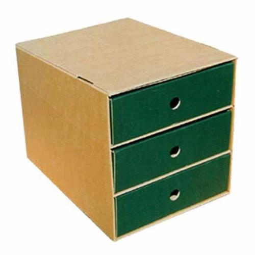 Συρταριέρα χάρτινη 3 θέσεων Next πράσινη