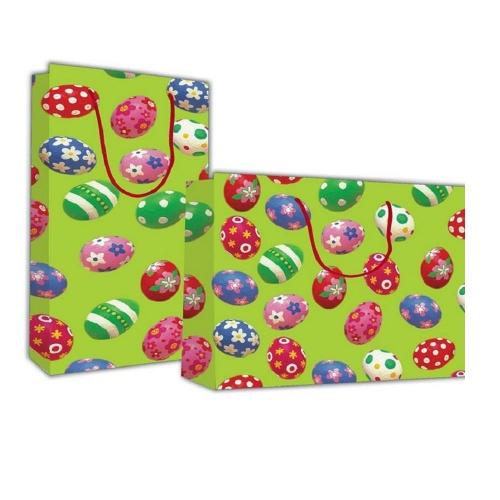 Τσάντα χάρτινη Next 40x46x14 cm Πασχαλινά αυγά