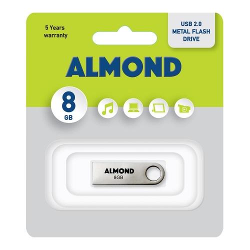 Usb Almond 8GB μεταλλικό mini