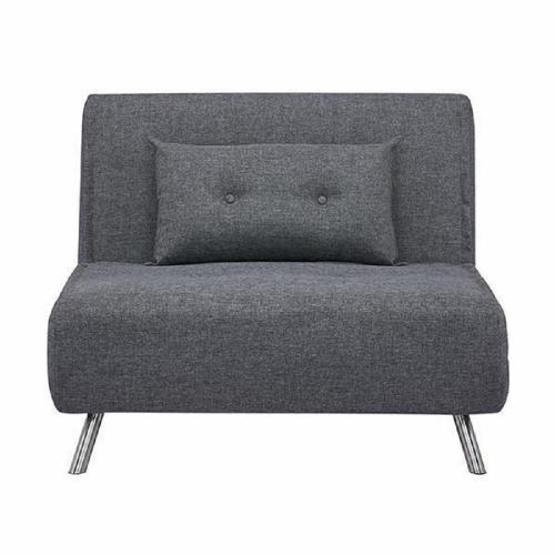 Πολυθρόνα-κρεβάτι Berlin σκούρο γκρι 92x100x91 cm