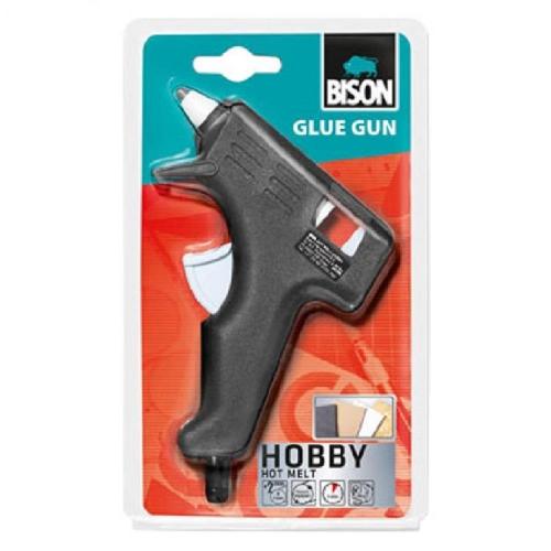 Πιστόλι σιλικόνης Bison μικρό 7mm 20W